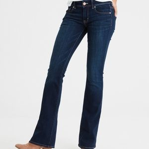 American Eagle Stretch Skinny Kick Jeans Xtra Long